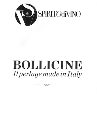 Bollicine - Il perlage Made in Italy