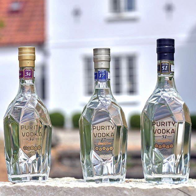 Due nuove Purity Vodka