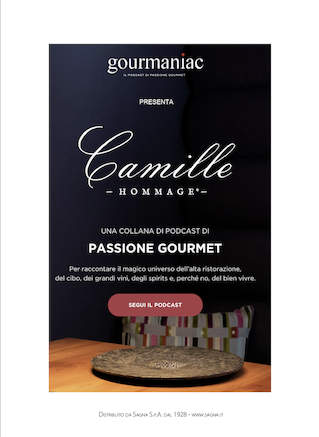 Gourmaniac - Hommage à Camille